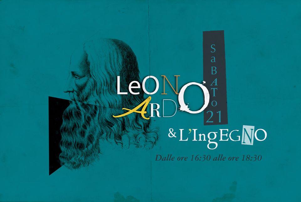 Leonardo e l'ingegno fronte 2019